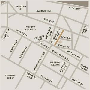 Map - Merrion Vaults