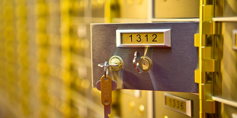 Safety Deposit Boxes Northampton